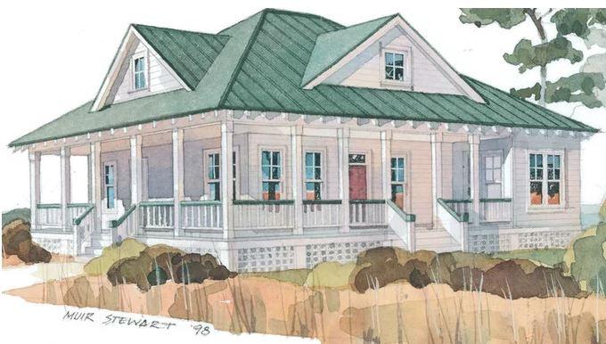 Coastal Confidante blog breezes. wraparound porch JPG