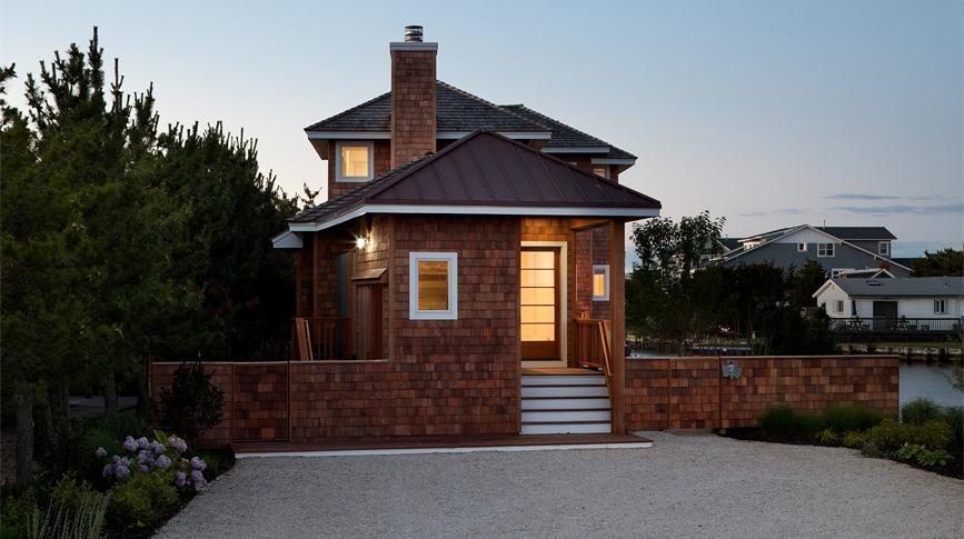 Richard Bubnowski Design LLC Harvey Cedars NJ exterior with cedar shakes